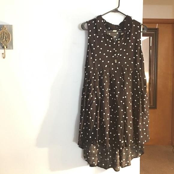 Forever 21 Dresses & Skirts - Large polka dot dress